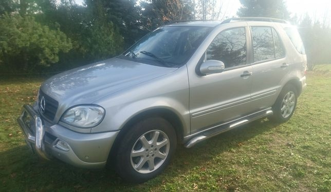 Mercedes ML W163 320 lpg lift 2002r.