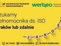 Pełnomocnik ds. ISO - Kraków Balice, woj. małopolskie lub zdalna