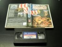 CAPITAL PUNISHMENT - VHS Kaseta Video - Opole 0695