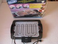 Reprezentacyjny, duży grill elektryczny, obrotowy Barbecue DeLonghi