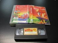 KRÓL LEW - WALT DISNEY - VHS Kaseta Video - Opole 0852
