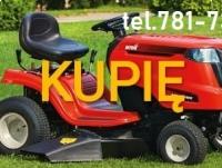 Kupię Traktorek Kosiarkę KAŻDY,do koszenia traw-CAŁY KRAJ