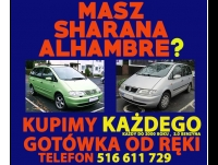 skup VW Sharan, SEAT Alhambra ,stan obojętny,