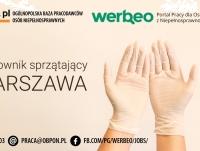 Pracownik porządkowy - praca stacjonarna w Warszawie
