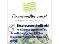 Błyskawiczne pieniądze na dowód bez zaświadczeń - mikropożyczki chwilówki na Finansoweabc.com.pl