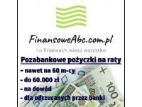 Pozabankowe pożyczki na raty na dowód on line bez BIK na FinansoweABC.com.pl