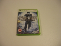 Call of Duty World at War - GRA Xbox 360 - Opole 1412