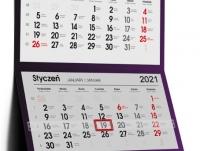 Kalendarze trójdzielne 2021
