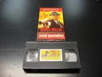 OSTATNI SPRAWIEDLIWY - BRUCE WILLIS - VHS Kaseta Video - Opole 1052