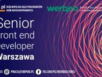 Senior Front-end Developer - praca stacjonarna w Warszawie