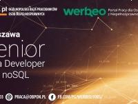 Senior Java Developer with NoSQL - praca stacjonarna w Warszawie