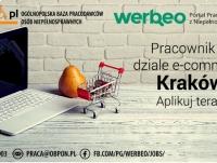 Pracownik działu e-commerce - praca w Krakowie