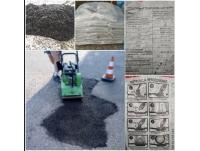 Asfalt na zimno worki zimny asfalt 1000 kg WYSYŁKA w CENIE