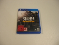 Metro Redux Last Light - GRA Ps4 - Opole 1489