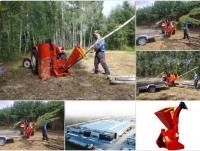 Rębak tarczowy RT630 rozdrabniacz do gałęzi POLSKI PRODUCENT