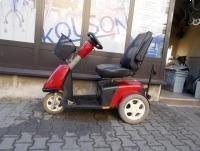 Skuter elektryczny 3-kołowy drogowy dla osoby starszej lub niepełnosprawnej