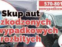 Skup samochodów uszkodzonych,  Skup aut powypadkowych Opole