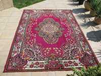 Orientalny dywan w stylu perskim, PRL świeżo wyczyszczony, 175x270 cm