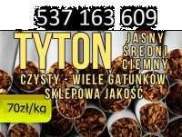 Tytoń papierosowy  70 zł 1 Kg! Sklepowej jakości, wysyłka w 24H!