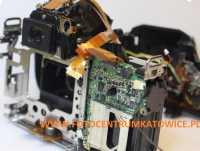SERWIS SPRZĘTU FOTOGRAFICZNEGO Canon Sony Nikon Pentax PO ZALANIU WODĄ SŁONĄ, SŁODKĄ KATOWICE ŚLĄSK