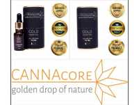 Olejek Konopny GOld Hemp Oil CANNAcore 5% CBG Full Spectrum