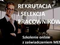 Rekrutacja i selekcja pracowników - SPD SZKOLENIA - kurs online