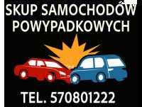 Auto po wypadku? Kupimy je! Śląsk Małopolska Opolskie