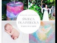 Świeca - Błogosławieństwo dla noworodka