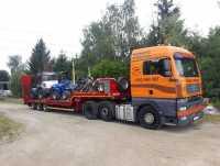 Transport maszyn 24 ton, pomoc drogowa, laweta Poznań Wielkopolska
