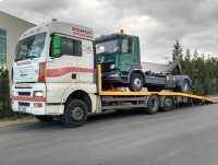 Holowanie Tirów, Laweta Dla Samochodów Ciężarowych