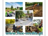 Zakładanie i projektowanie ogrodów, projekt, Usługi ogrodnicze