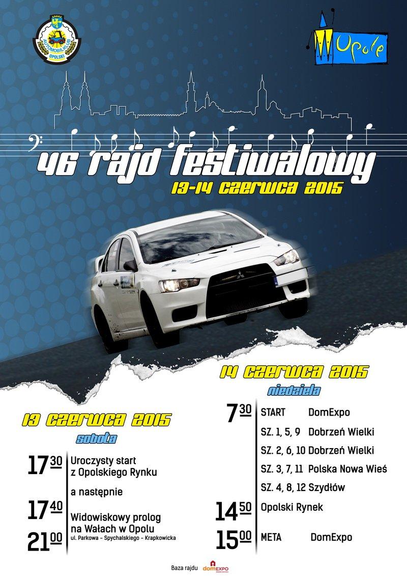 46 Rajd Festiwalowy w domEXPO Opole!