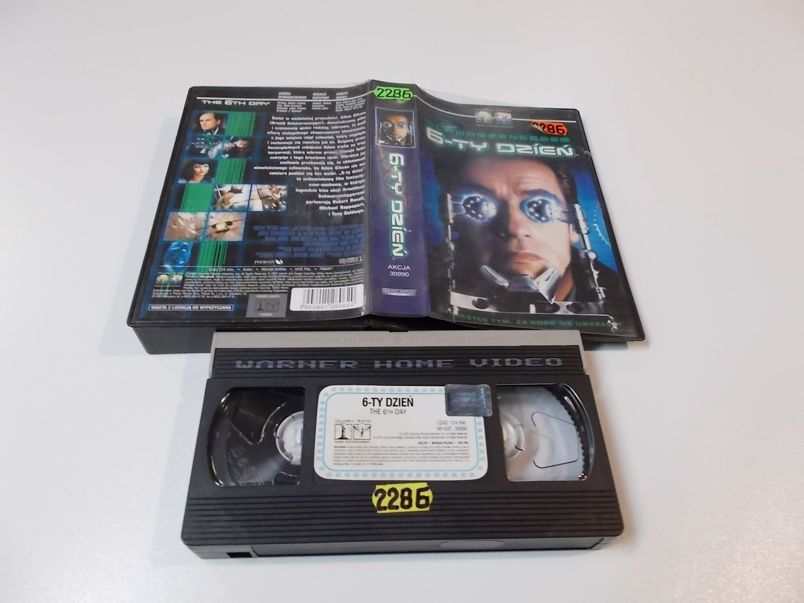 6-TY DZIEŃ - VHS Kaseta Video - Opole 1645