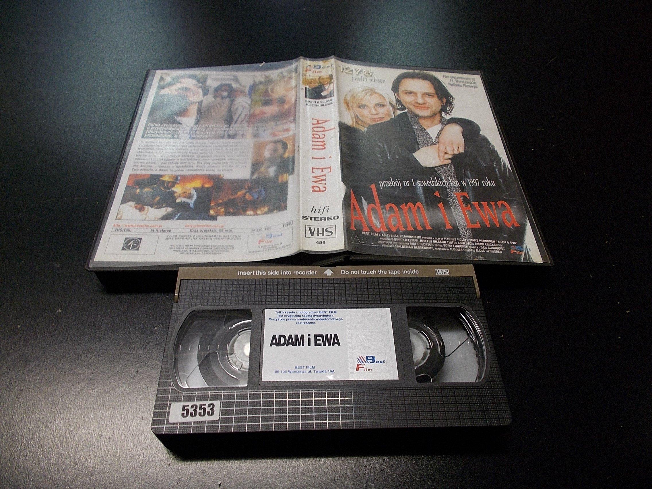 ADAM I EWA -  kaseta VHS - 1160 Opole - AlleOpole.pl