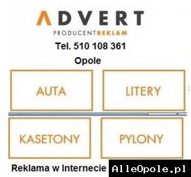 ADVERT – Producent Reklam Opole * Oklejanie Samochodów