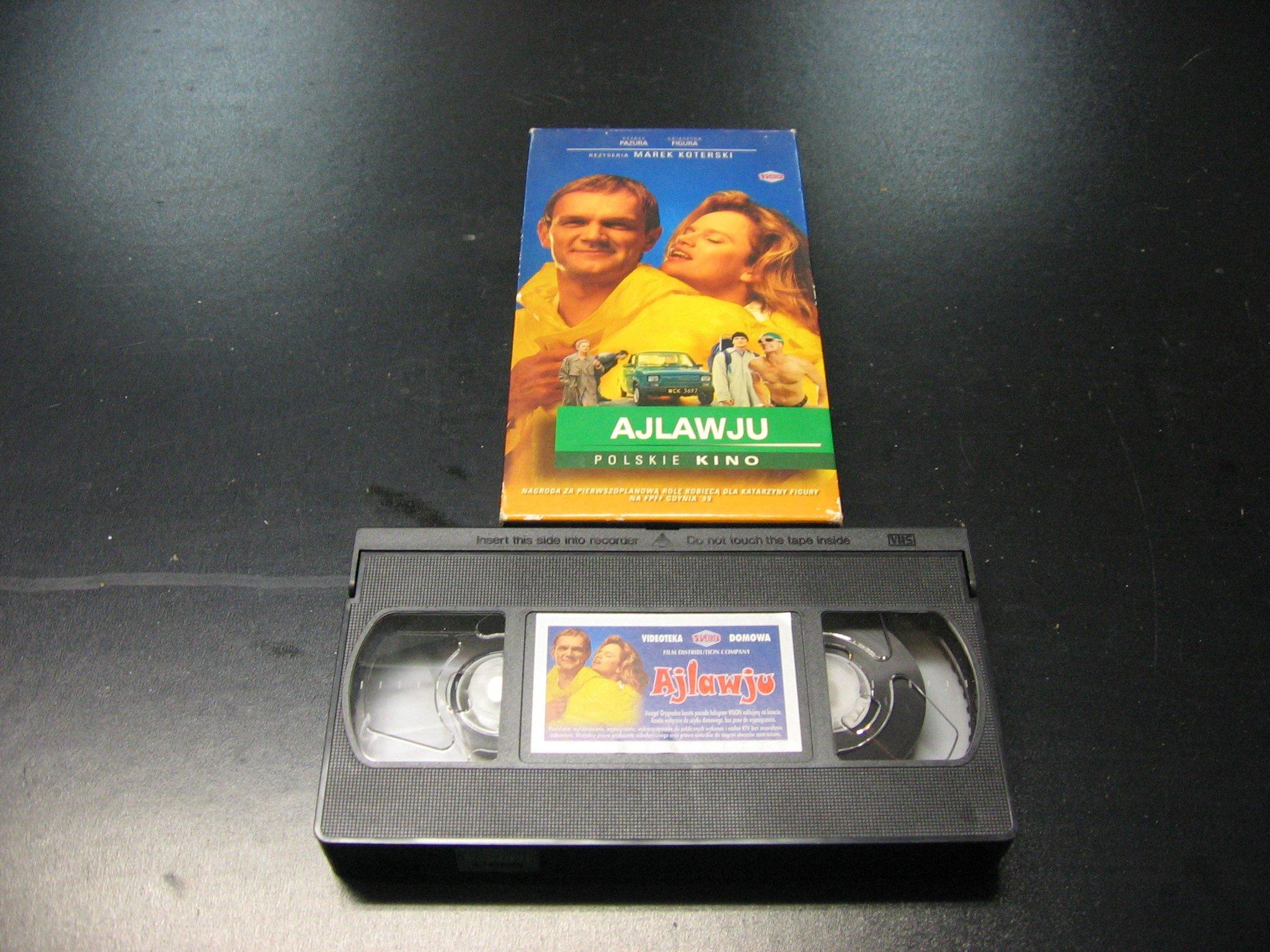 AJLAWJU -  kaseta VHS - 1043 Opole - AlleOpole.pl