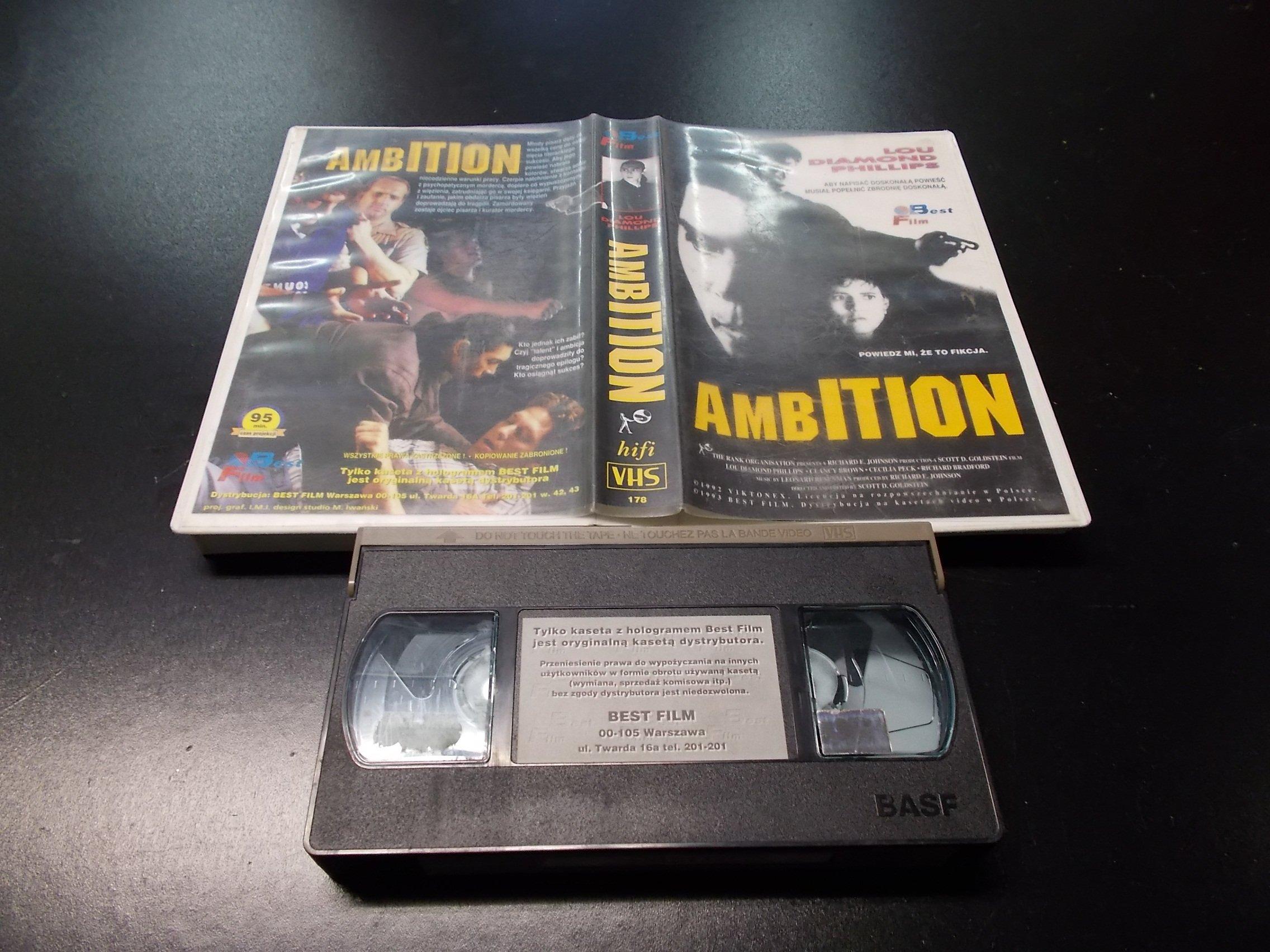 AMBITION -  kaseta VHS - 1217 Opole - AlleOpole.pl