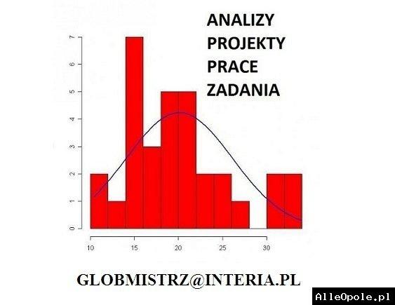 ANALIZA STATYSTYCZNA - SPSS, STATISTICA, RSTUDIO, EXCEL - ANKIETY, BADANIA