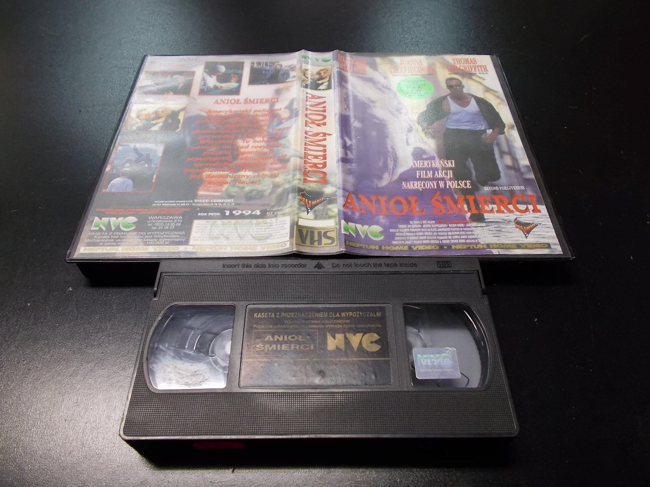 ANIOŁ ŚMIERCI -  kaseta VHS - 1170 Opole - AlleOpole.pl