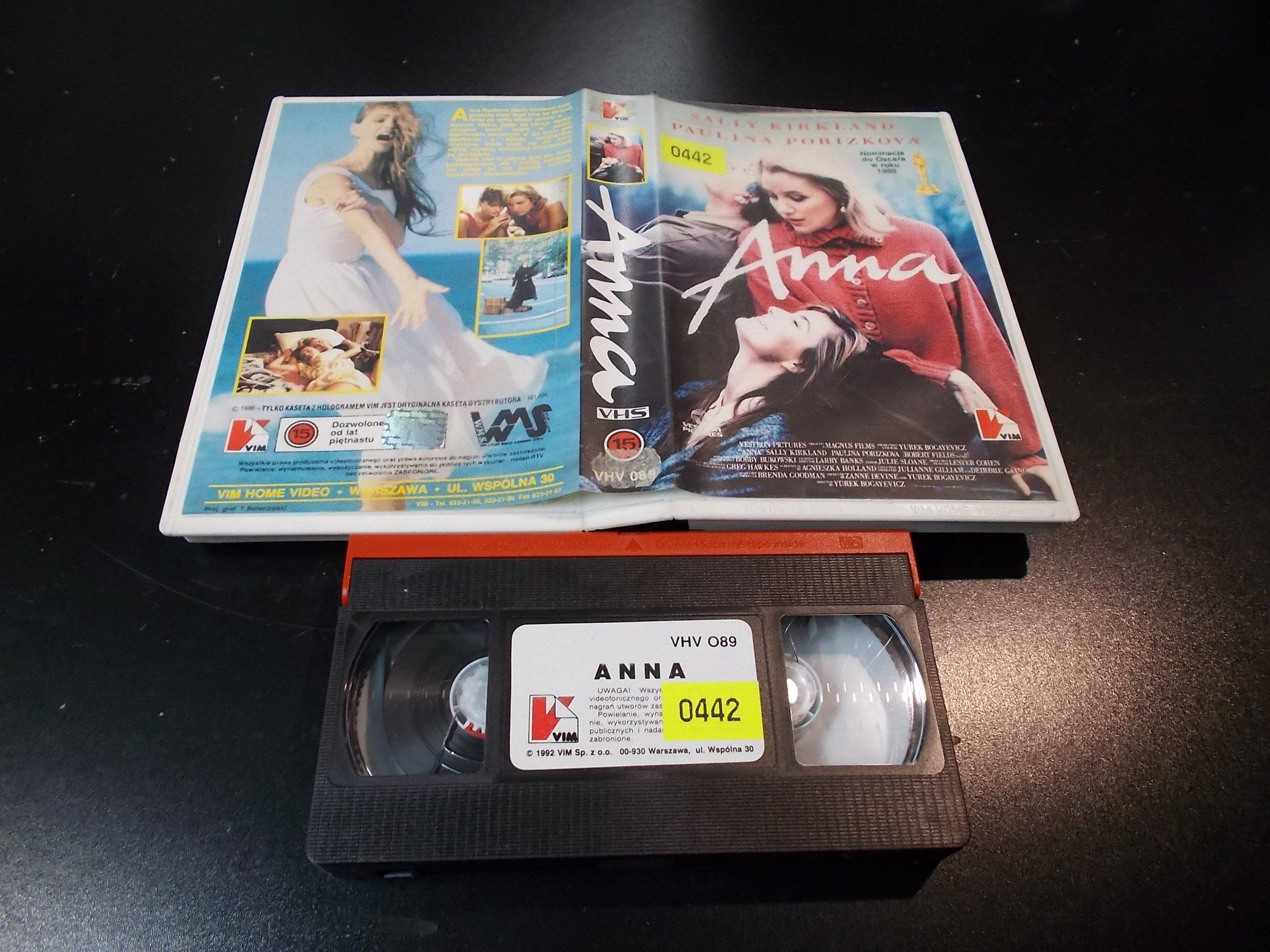ANNA - kaseta Video VHS - 1400 Sklep