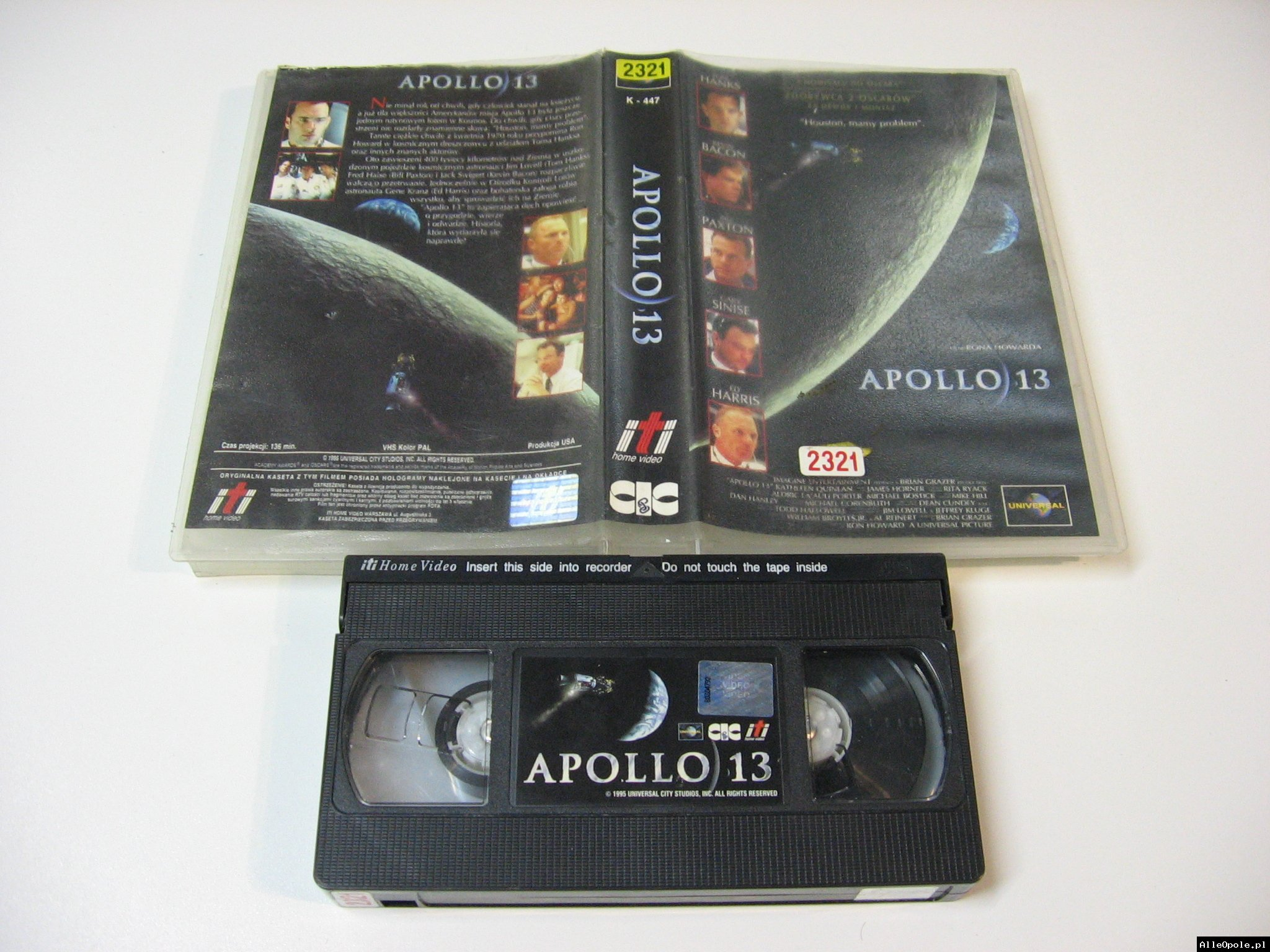 APOLLO 13 - VHS Kaseta Video - Opole 1748