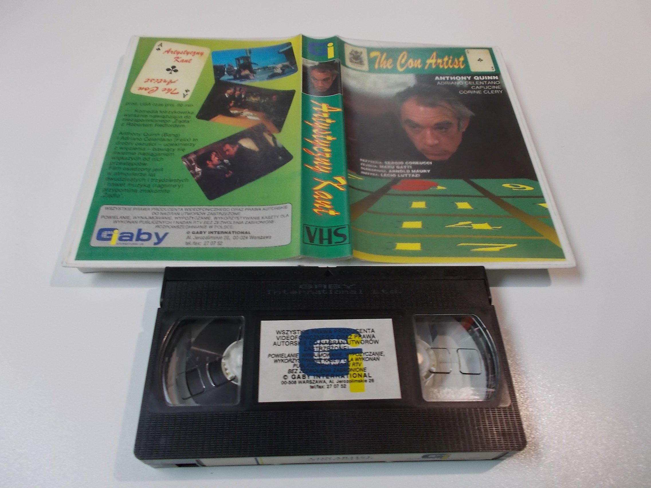 ARTZSTZCYNZ KANT - ANTHONZ QUINN - kaseta Video VHS - 1433 Sklep