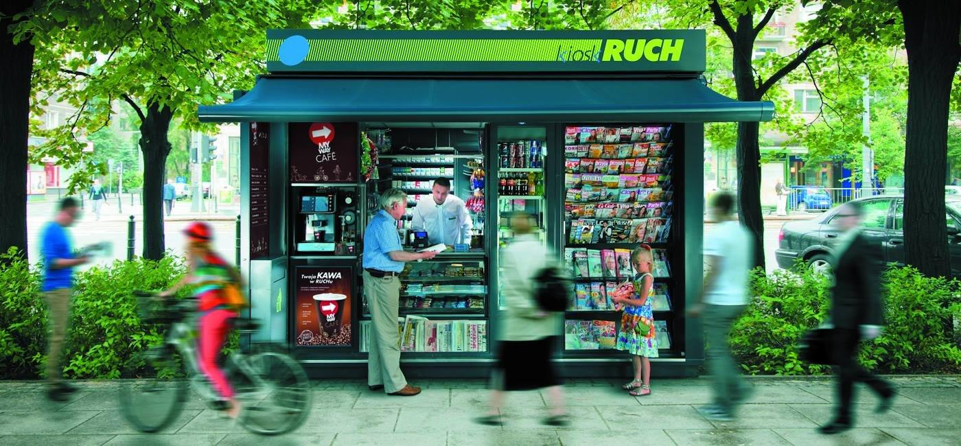 Ajent kiosku RUCH