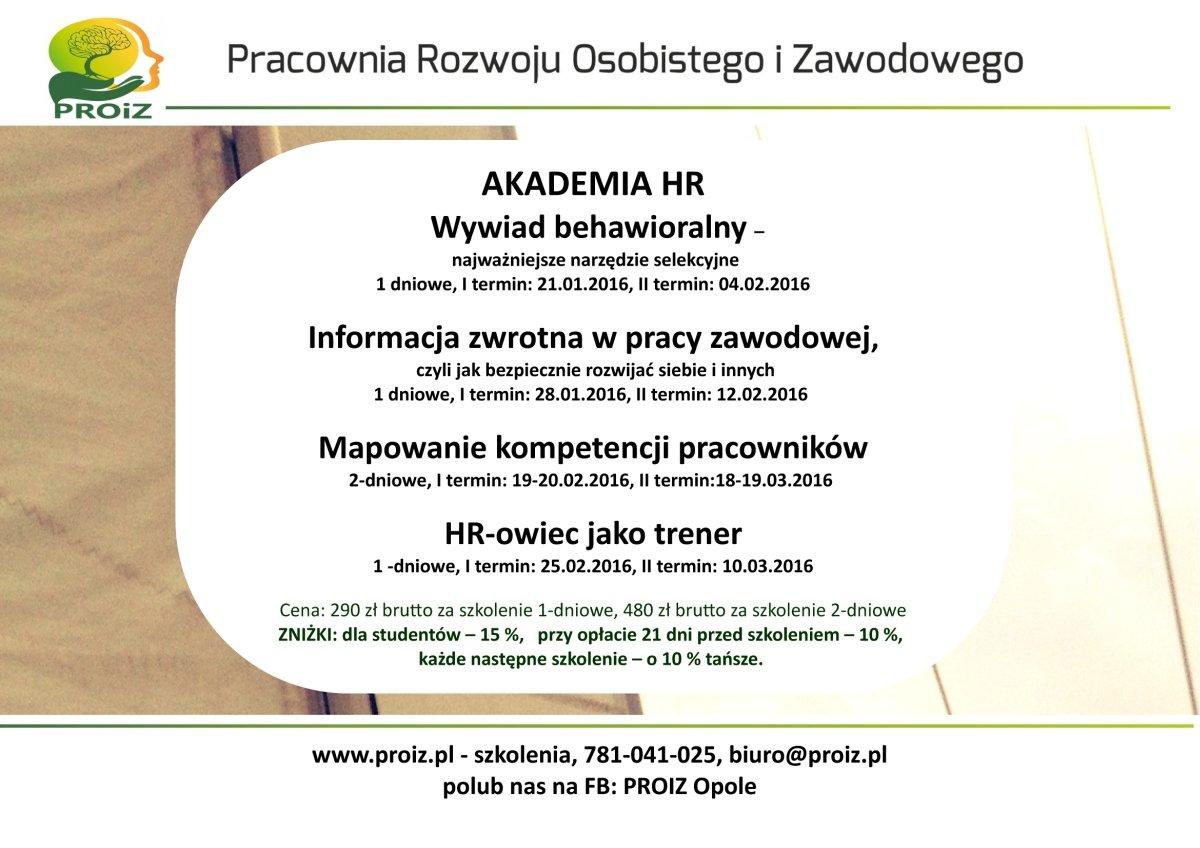 Akademia HR