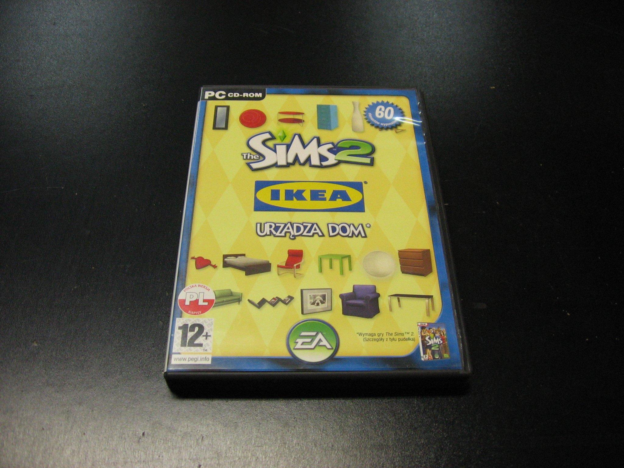 Akcesoria The Sims 2 Ikea urządza dom PL - GRA PC Sklep