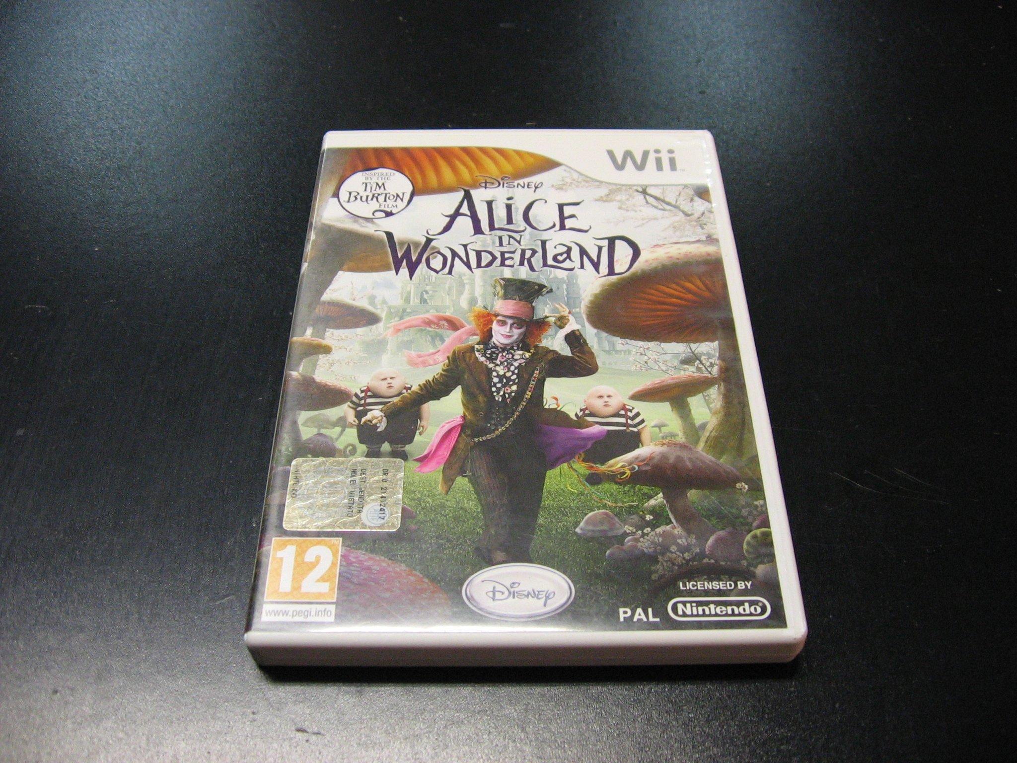Alice in Wonderland - GRA Nintendo Wii Sklep