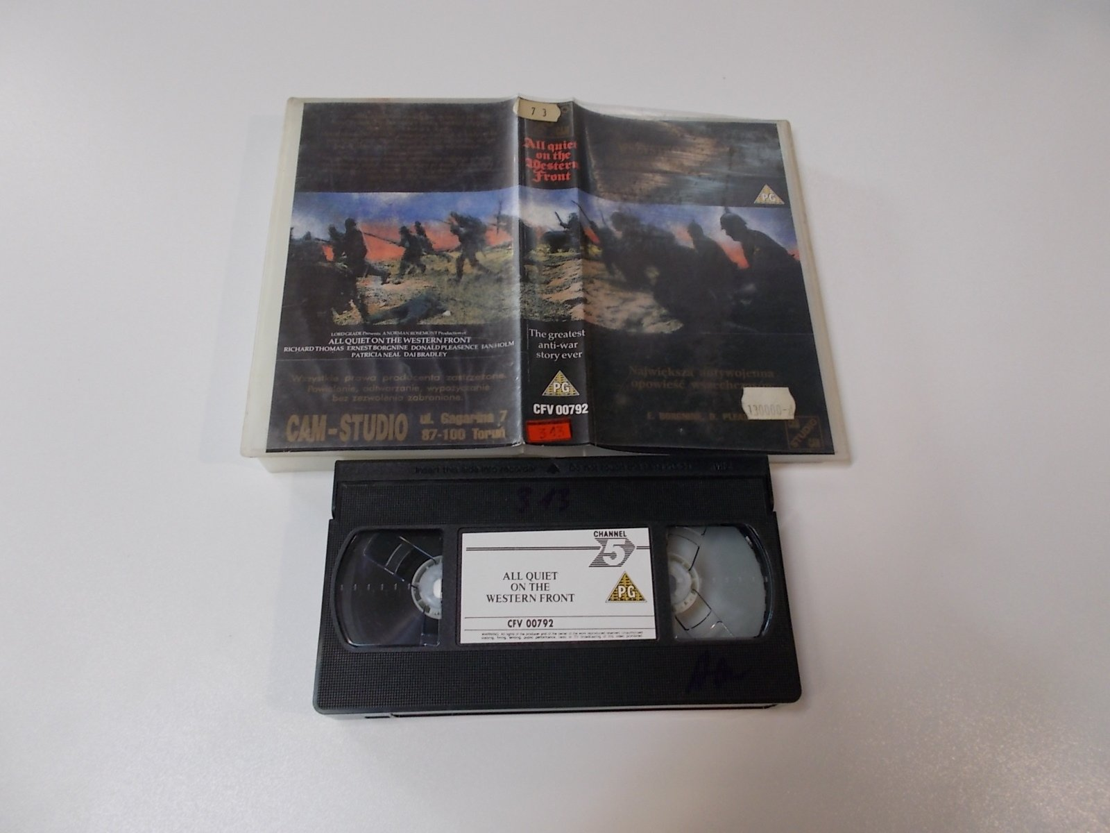 All Quiet on the Western - VHS Kaseta Video - Opole 1671