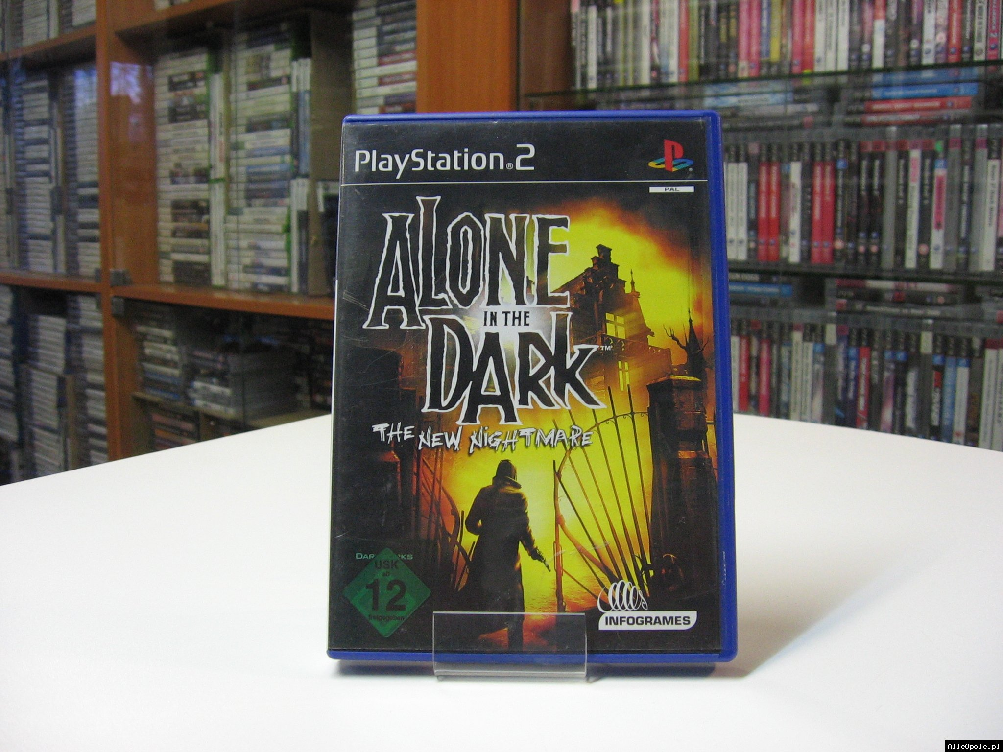 Alone in the Dark the New Nightmare - GRA Ps2 - Opole 0573