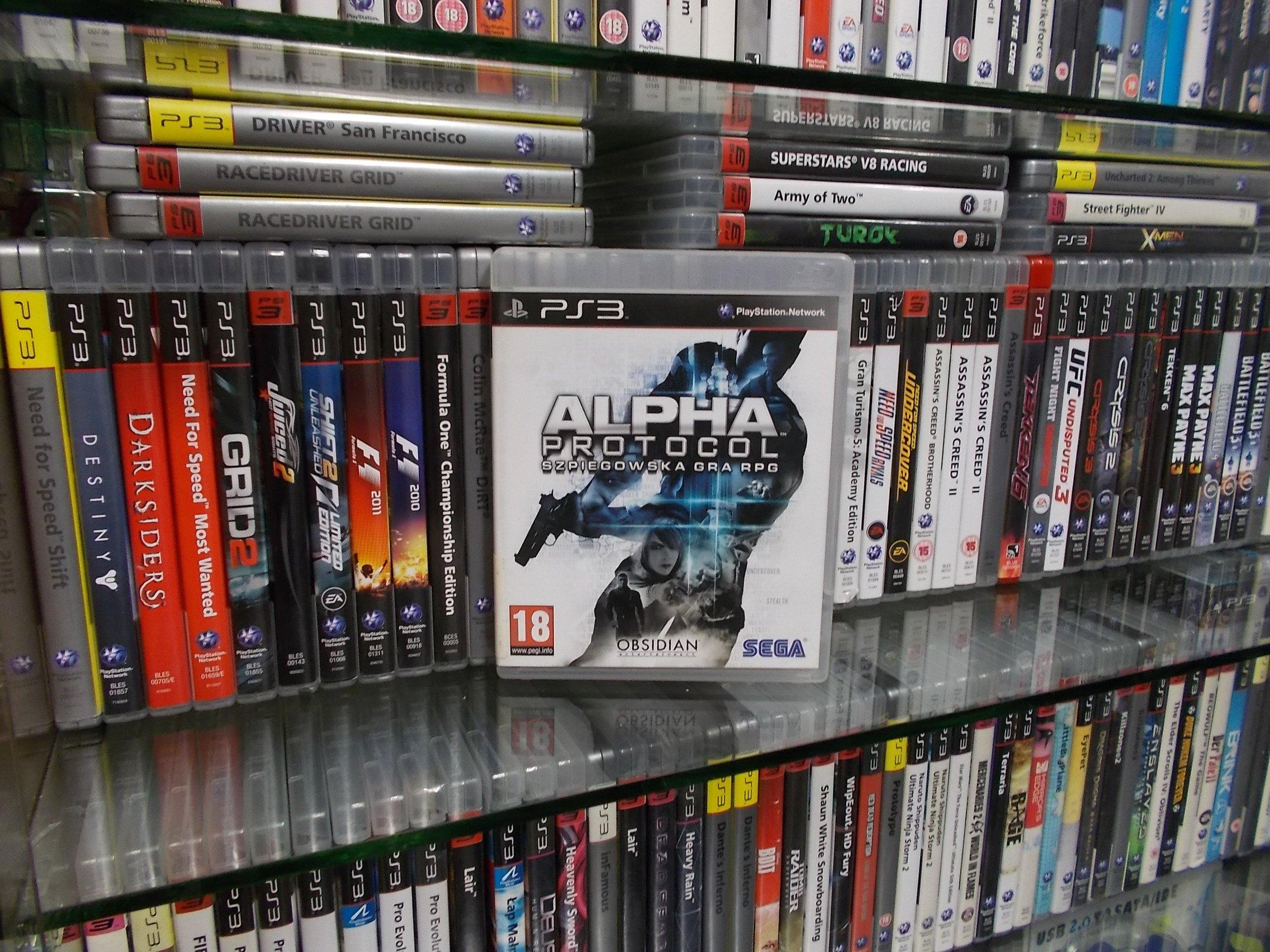 Alpha Protocol - GRA PS3 Sklep