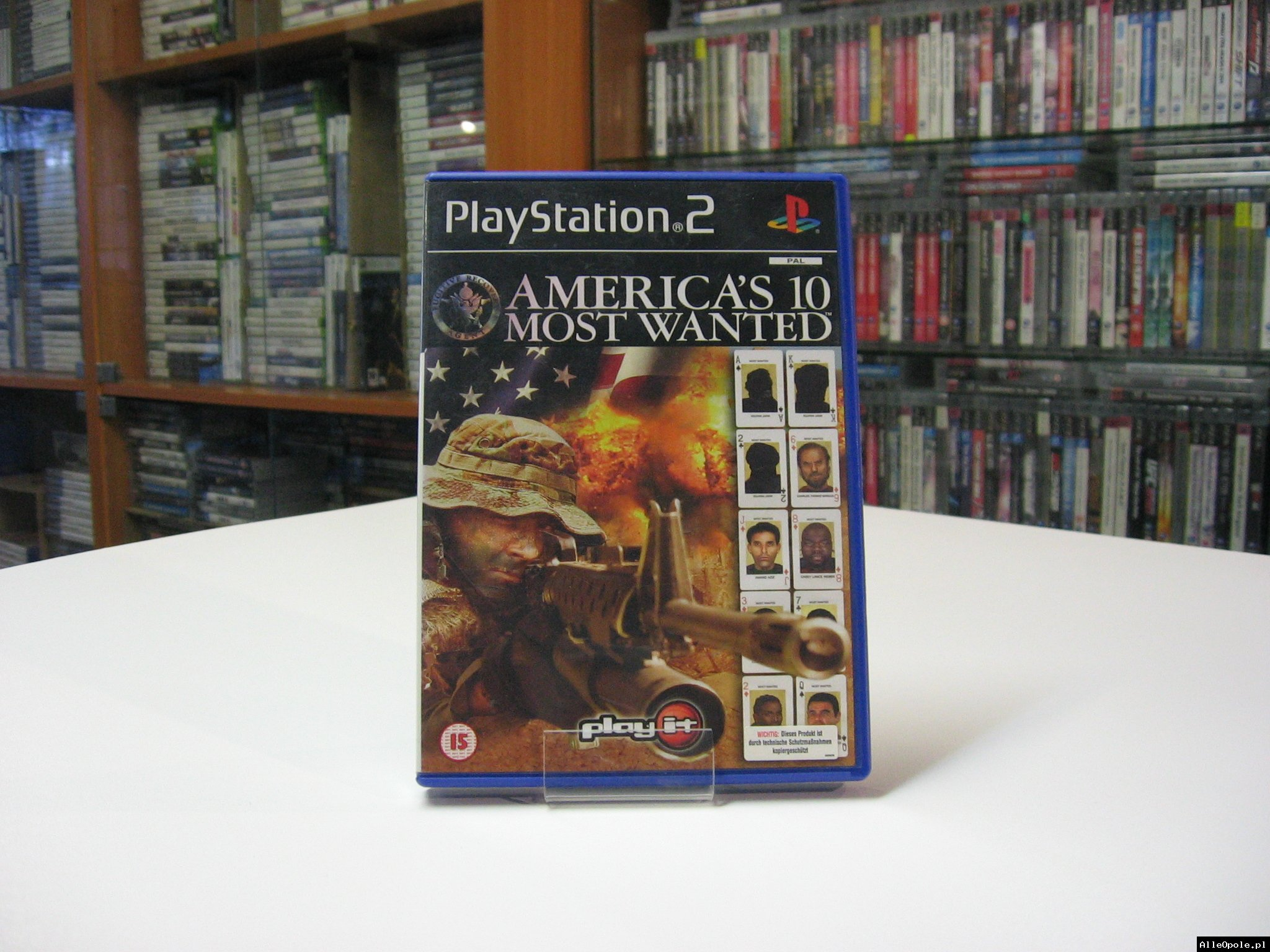 Americas 10 Most Wanted - GRA Ps2 - Opole 0590